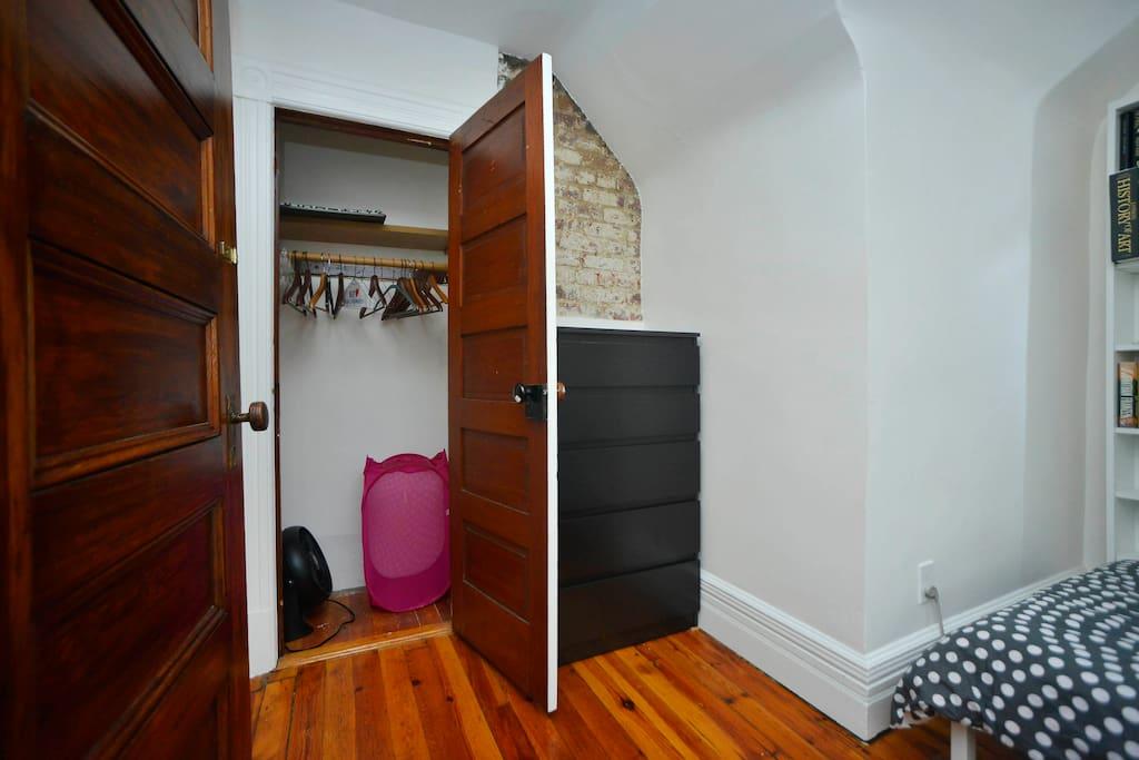 Closet in bedroom #1