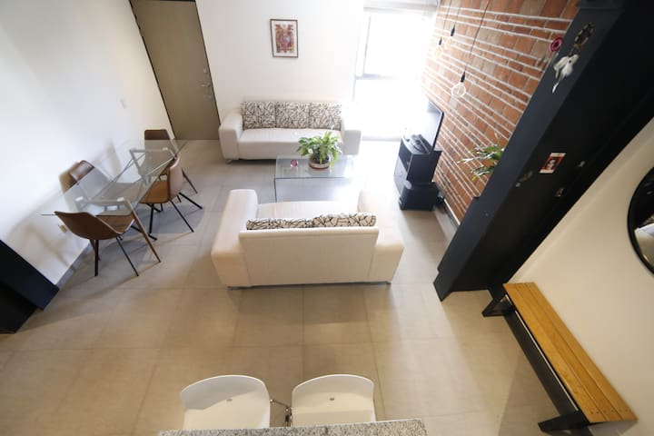 * Penthouse Roma Norte with Private Roof Garden