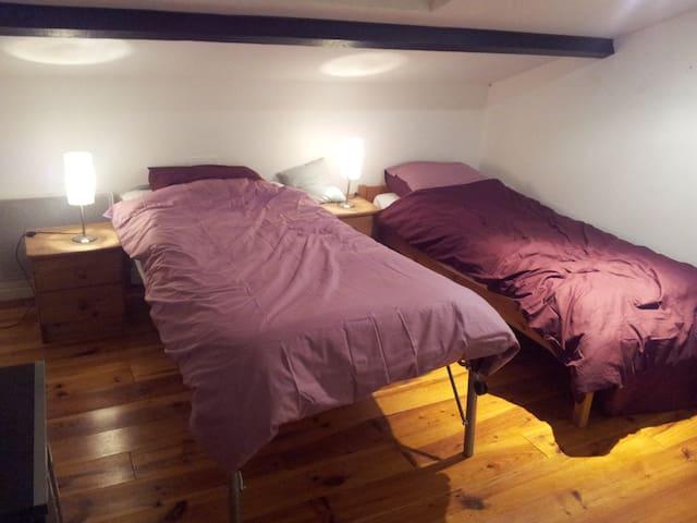 2 chambres dans maison du propriet. - Auradé - Penzion (B&B)