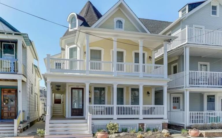 Little Luxury Gem 1.5 blocks Ocean Grove Beach! - Neptune Township - Βοηθητική μονάδα