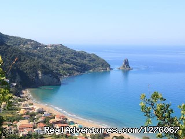 Famous Agios Gordios beach only  10 minutes drive way