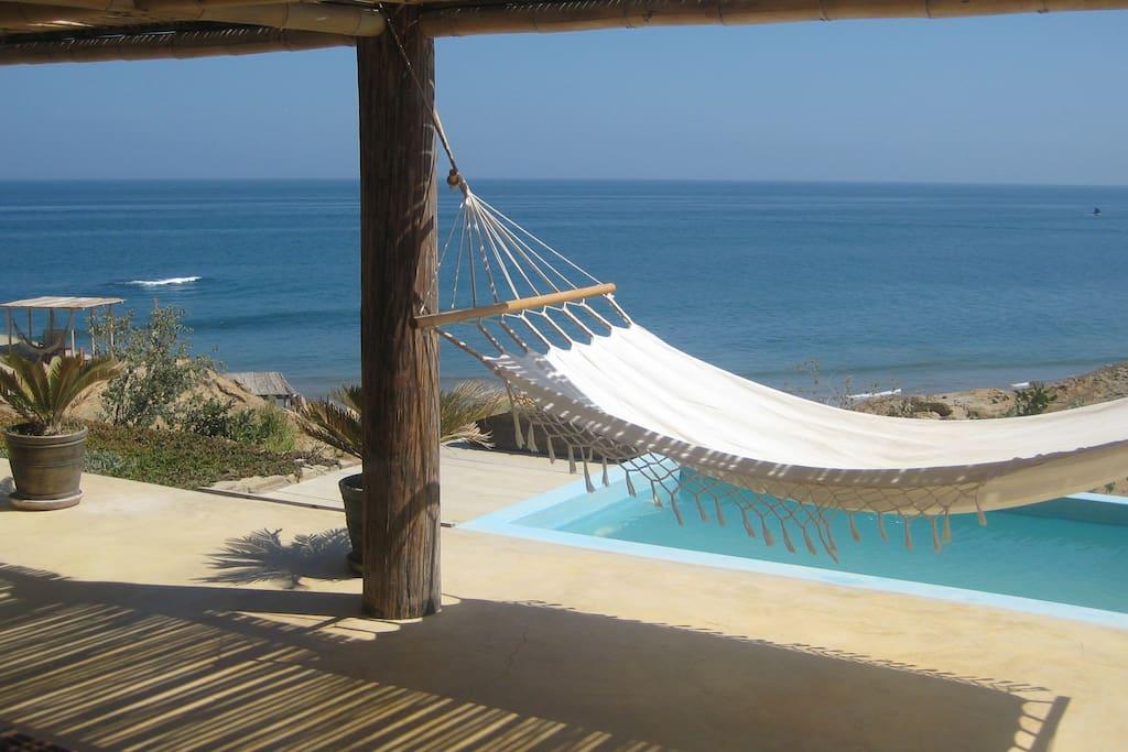 Incredible ocean views and private pool