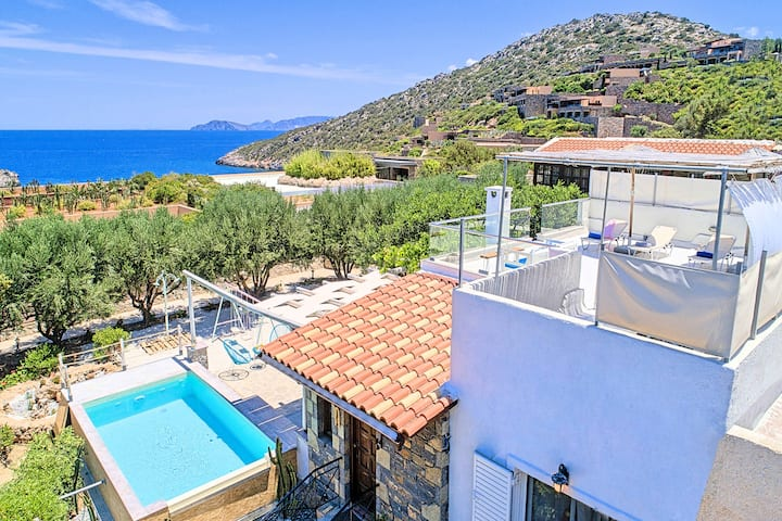 Cretan Lodge Heated Pool