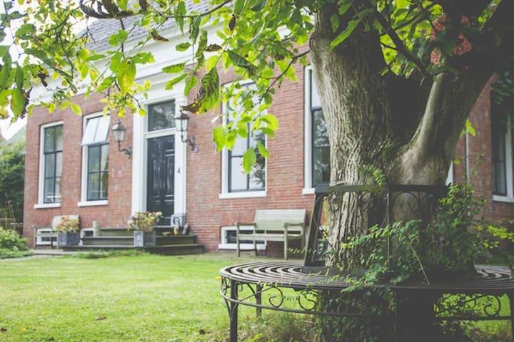 Vakantiewoning in Rijksmonument - Finsterwolde - Huis