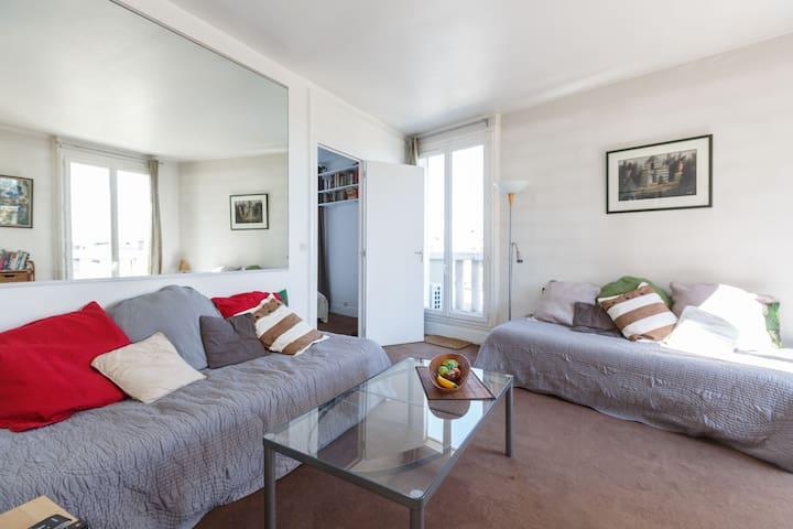 apartment with view Paris center