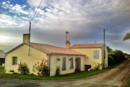 Beautiful French Farmhouse near sea - Angles - Dom