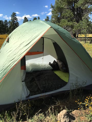 Grand Canyon Equipment Rental - tent, camp kitchen