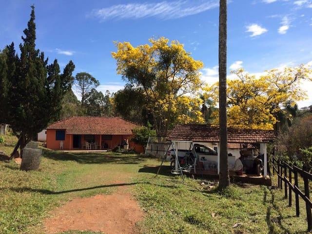 Casa de fazenda Sao Luis Paraitinga - Lagoinha - Casa de campo