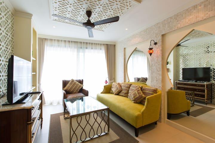 New! 2 Beds Marakesh Seaview  - Nong Kae - Pis