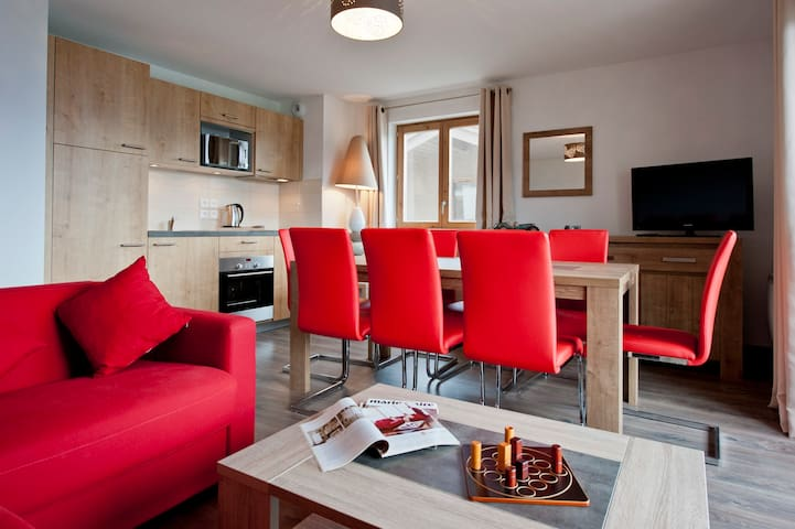 Appartement cosy, en bord de pistes - DOUCY-COMBELOUVIÈRE - Lakás