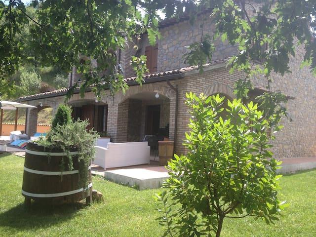 Villa privata incantevole - Valtopina