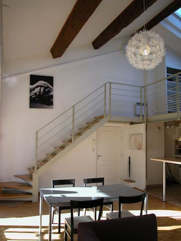 APPARTEMENT LOFT CENTRE HISTORIQUE / PARKING