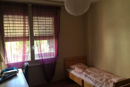 Chambre tranquille vue sur parc - 日內瓦