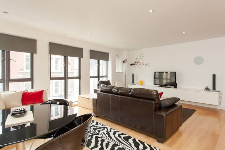 Spacious Central London Apartment by Hoxton Square