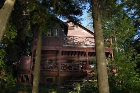 The Mark Twain Camp/L. Saranac Lake - Saranac Lake