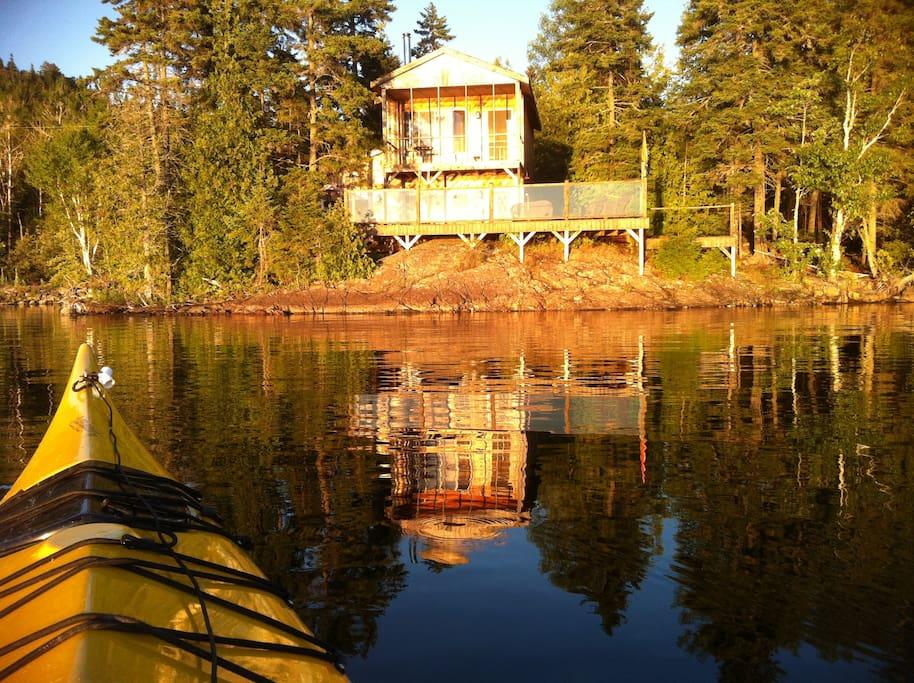 Chateau Chamcook - Lakeside living
