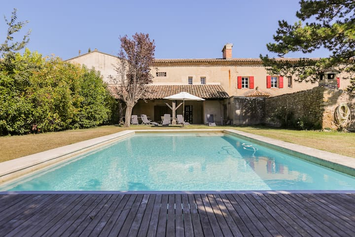 Hidden Treasure, Quiet, Private, Large Pool, BBQ - Puyvert - Ev