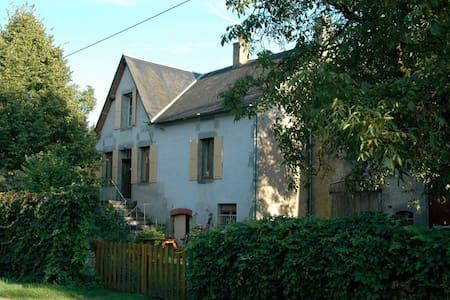 groot authentiek familie huis - Ouroux-en-Morvan - Talo