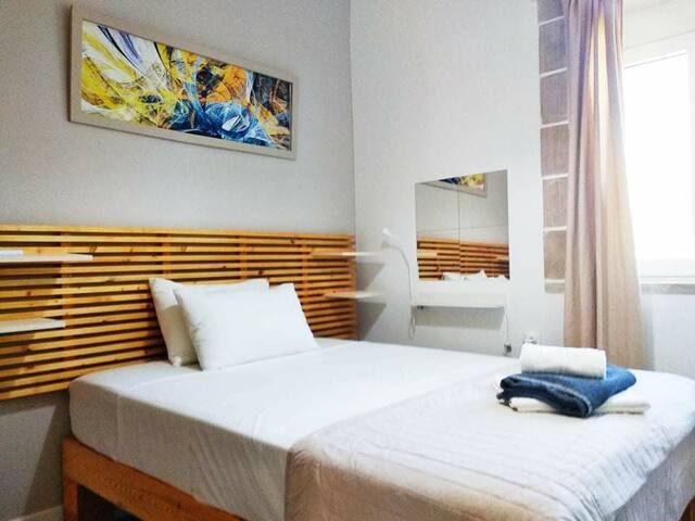 Third bedroom, bed size 1.40m*2.00m