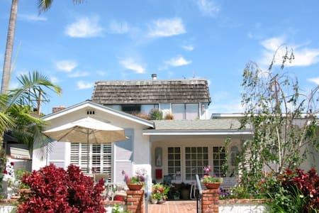 Sunny ROOM in Balboa Island Cottage - Newport Beach - Hus