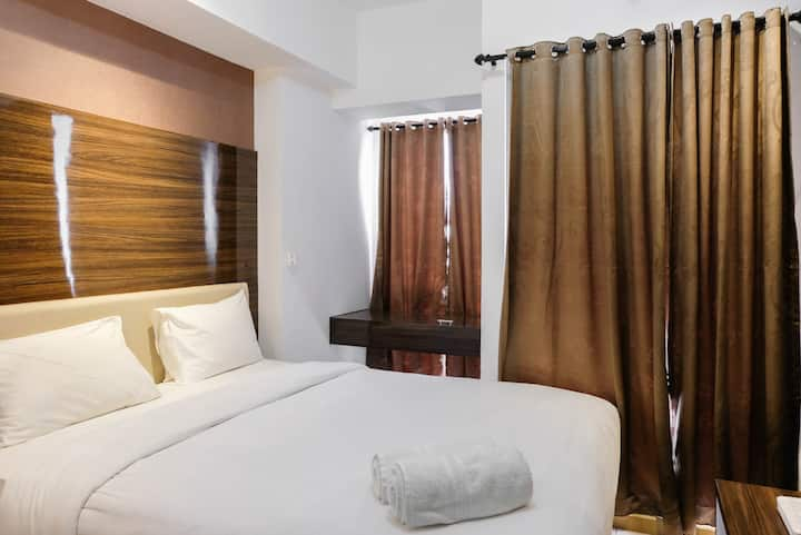 Fully Furnished Studio at Serpong M-Town Residence