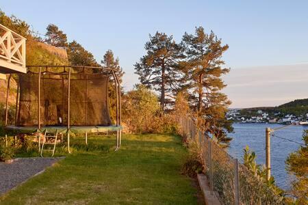Leilighet på Tromøy, utsikt mot havet.