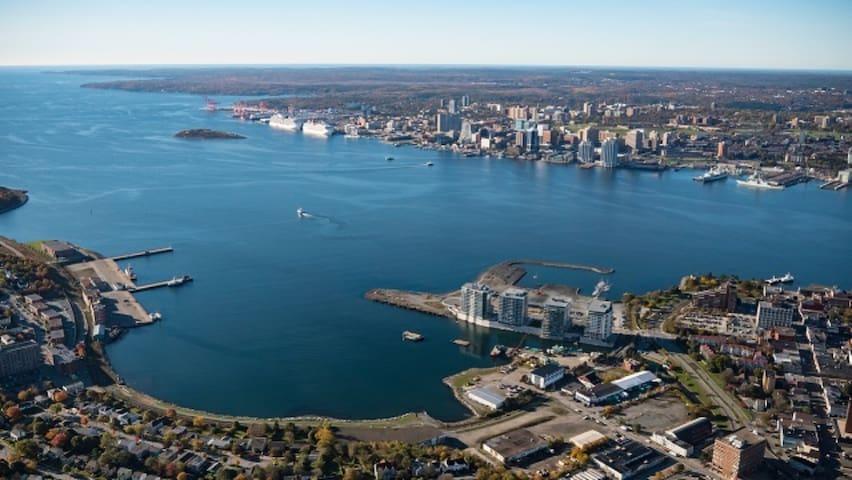 Waterfront Luxury Condo on Halifax Harbour