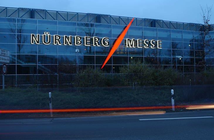 Nah zur Messe Nürnberg