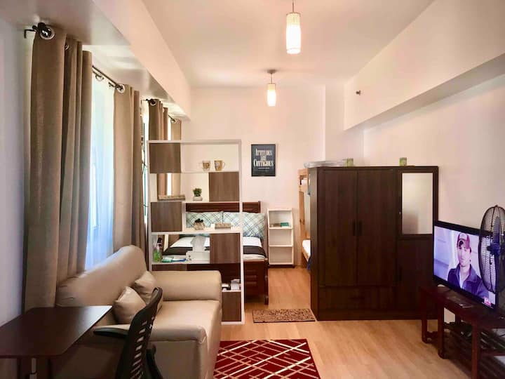 Fully-Furnished and Spacious Premier Studio