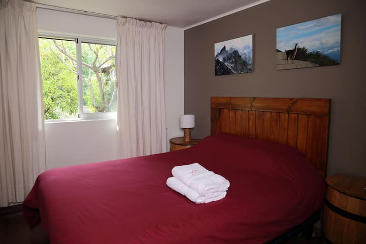 Casa Suiza Double Bed with shared bathroom