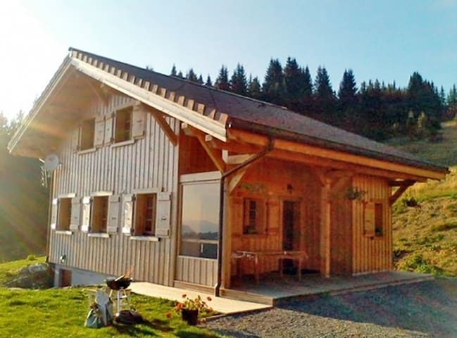 New Chalet 6/8p - Quiet and sunny - Morzine - Chalet