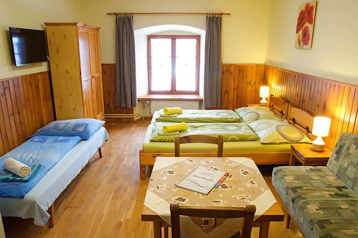 Family room | Penzion Pod Branou