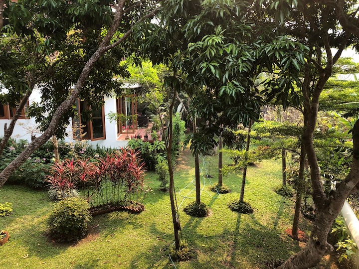 One bedroom private villa with breakfast