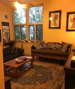 Sunny, Spacious 1BR + Loft in Winooski - Winooski - Apartment