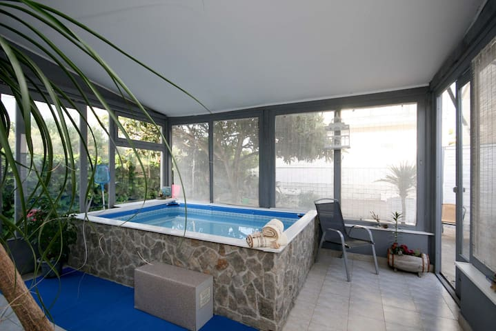 Holiday house / small inside pool - Brodarica - House