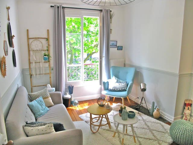 CHARMING & COSY FLAT T2 IN BOHO DOWNTOWN 3 People