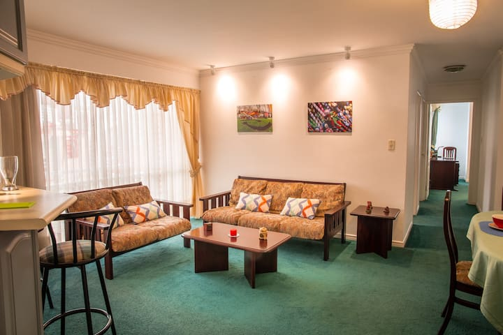 Cozy apartment near Plaza Abaroa
