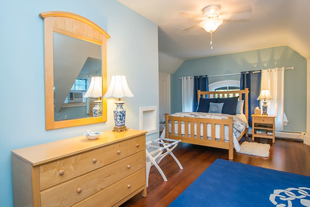 Bright, beautiful suite includes 2 bedrooms, living room, kitchen and private bath.