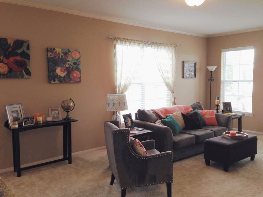 The common area/ living room