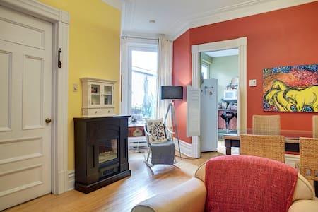 Au cœur du Plateau Mont-Royal - Montréal - Apartmen