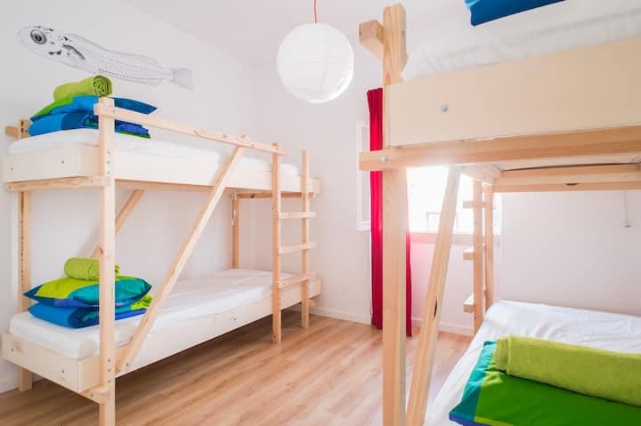 Nazaré Hostel | 4-bed dormitory #2