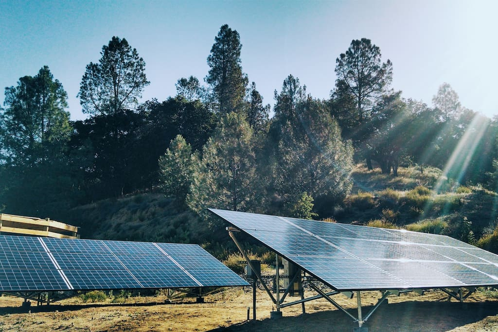 Our ranch is 100% solar powered!