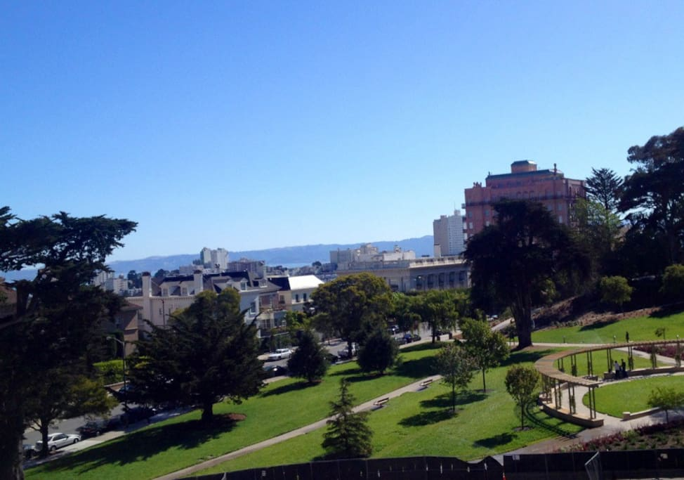Pacific Heights의 Lafayette Park 사진