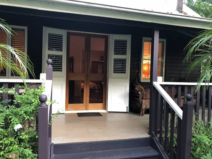 Coco's Cottage in the Byron Bay Hinterland.