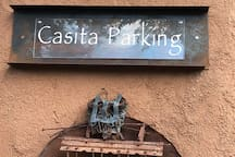 Casita Parking area