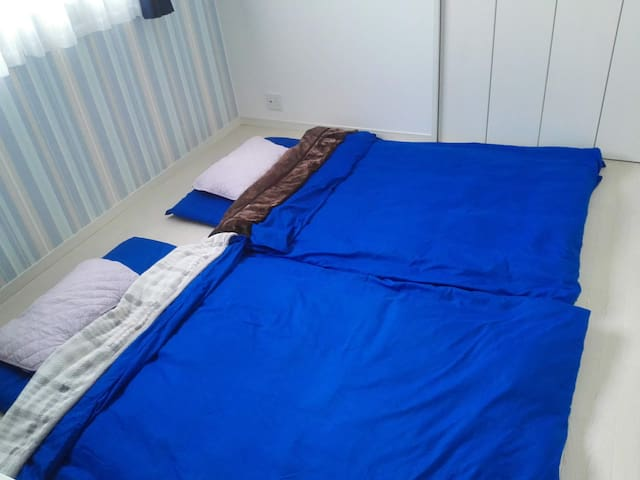 Futon for two guests