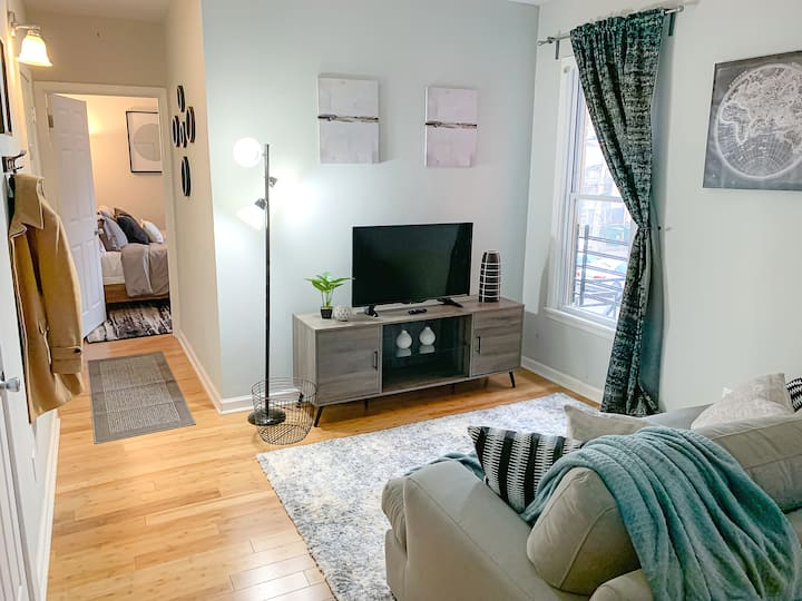 Short North 1 Bed Retreat ♥ Walk to Heart of City