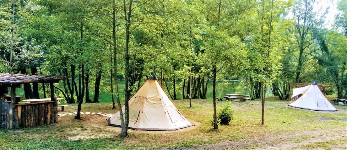 Robinson Camp Juratovićki Brig - Tent 1