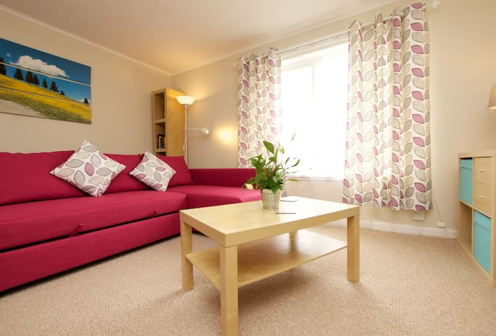 Bright and welcoming flat, just outside Edinburgh - Linlithgow - Apartamento