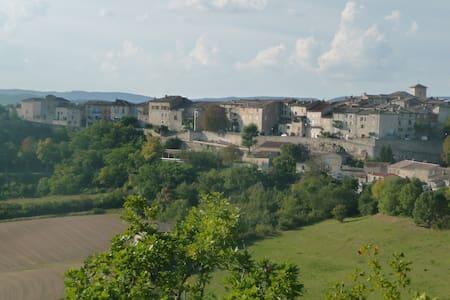 Studio renové dans village médiéval - Castelnau-de-Montmiral - Apartamento